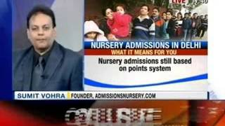 NewsX: No childs play: are the new nursery admission rules fair? - NEWSXLIVE