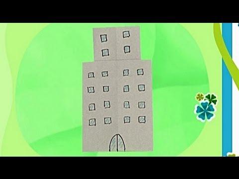Çocuklar İçin Origami Building (Öğretici) – Kağıttan Arkadaşlar 20