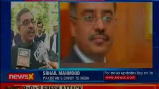 Pak's envoy to India Sohail Mahmood returnsto Delhi, expected to host 'Pakistan National Day' event - NEWSXLIVE