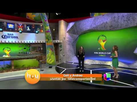 Galilea Montijo y Andrea Legarreta juntas por tele transportación