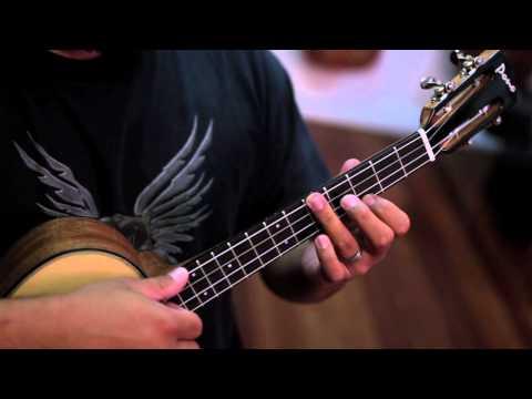 Baritone Ukulele Lessons - Scales- Part 1
