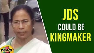 Mamata Suggests National Parties to Respect Regional Parties, JD(S) could be kingmaker | Mango News - MANGONEWS