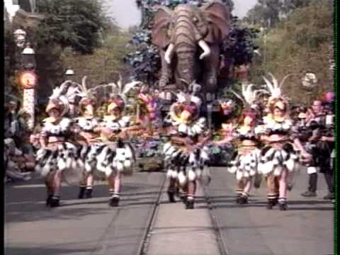 1994 Disneyland LION KING Parade