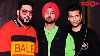 Badshah and Diljit Dosanjh are the latest guests on Karan's chat show & more - ZOOMDEKHO