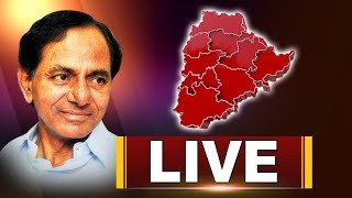 KCR Press Meet Live After TRSLP Meeting At Telangana Bhavan | Telagana Assembly Reults | iNews - INEWS