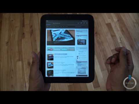 HP TouchPad Setup And First Impressions - BWOne.com