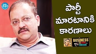 Reason Of Changing The Party From Telugu Desam To BJP - MD Sudhish Rambhotla - IDREAMMOVIES