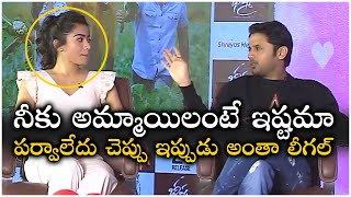 Nithin Fun With Rashmika Mandanna | Bheeshma Movie Interview | TFPC - TFPC