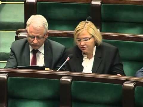 [113/255] Krystyna Poślednia: Dziękuję. Panie Marszałku! Panie Ministrze! Wysoka Izbo! Trochę..