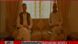 Jammu and Kashmir: All party meet begins at Governor NN Vohra's residence - NEWSXLIVE