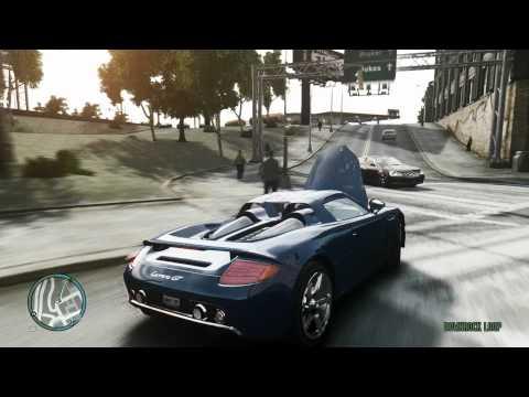 GTA 4 ENB ultra graphics gameplay : cars, speeding, traffic jams, crashes & cheats