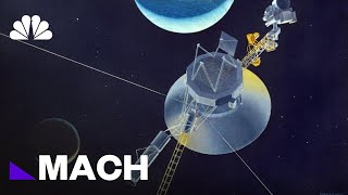 How Far Into Space Is NASA's Voyager 2 Right Now? (Very, Very, Very Far) | Mach | NBC News - NBCNEWS