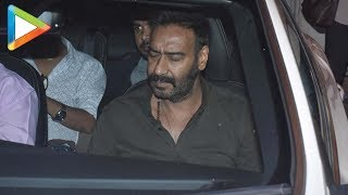 SPOTTED: Kajol, Ajay Devgn & Others @Screening of 'Total Dhamaal' - HUNGAMA