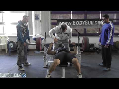 Power Reps Bench Press -100κ. & +100κ