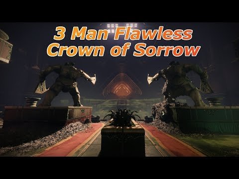 3 Man Flawless Crown of Sorrow