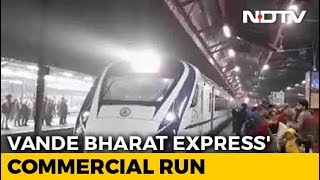 """""""Tickets Sold Out"""": Minister On Vande Bharat Express's Commercial Run - NDTV"""