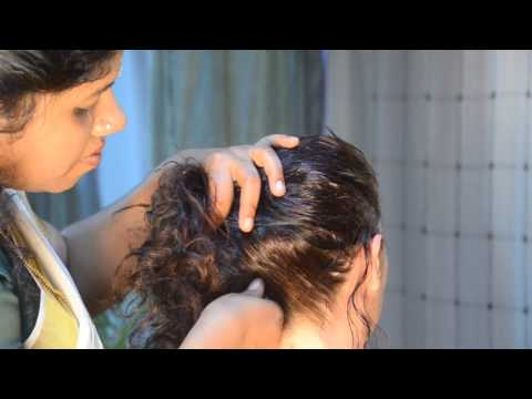 indian head massage, head massage course, ayurvedic head massage for woman.