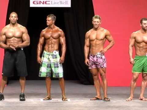 Muscle and Fitness Men's Physique Contest Held at Olympia Weekend 2010 5of5