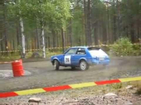 Kajaani Rallisprint 2011, 28 Markku Kröger LeppävirtaRT Toyota Starlet