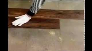 Укладка ПВХ плитки на пол