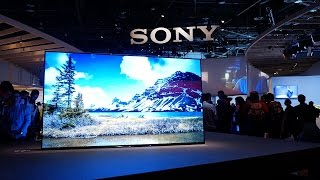 Sony A1 Dolby Vision OLED TV at CES