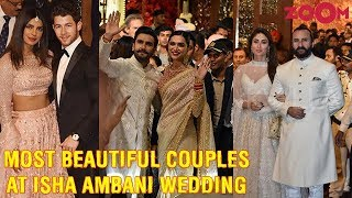 Best looking couples & guests at Isha Ambani - Anand Piramal's Grand Wedding - ZOOMDEKHO