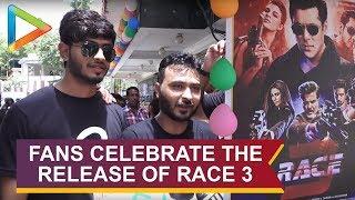 FAN Celebration at CHANDAN CINEMA on release of RACE3 - HUNGAMA