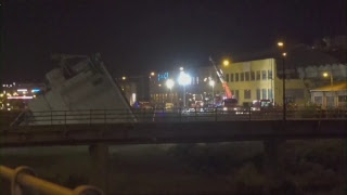 Genoa bridge collapse - SKYNEWS