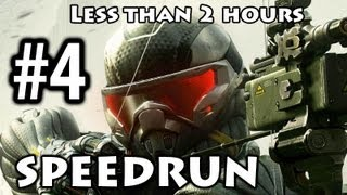 Crysis 3 - Speedrun Part 4 - Safties Off [Commentary] [Less than 2h]