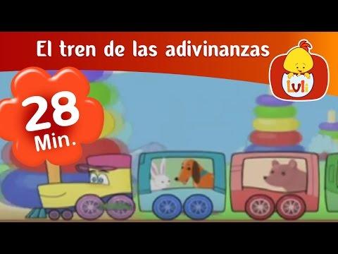 El tren de las adivinanzas - Especial de media hora para niños