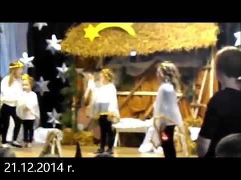 Jasełka o Narodzeniu Pana Jezusa . 21.21.2014 r. Baczków Gm . Bochnia
