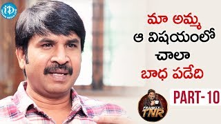 Actor Srinivas Reddy Exclusive Interview - Part #10 | Frankly With TNR | Talking Movies With iDream - IDREAMMOVIES