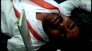 కాంగ్రెస్ అభ్యర్థి వంశీ పై రాళ్లతో దాడి..! | Attack On Congress MLA Candidate Vamshi Chander Reddy - CVRNEWSOFFICIAL