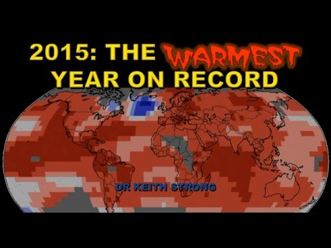 2015 WARMEST YEAR ON RECORD