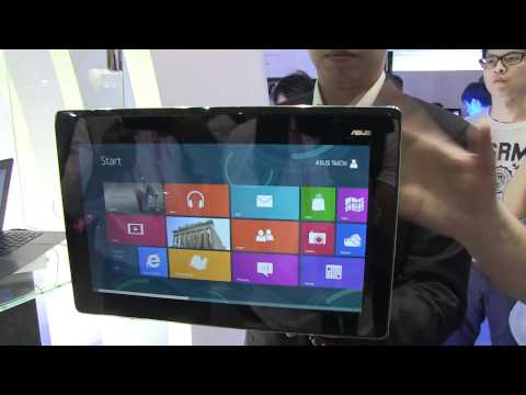 Asus TAICHI Dual Display Ultrabook Hands-On - Computex 2012