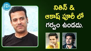 Artist Aziz Naser about Nithiin & Akash Puri | Interview | Talking Movies with iDream | Deeksha Sid - IDREAMMOVIES