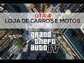 GTA IV   Loja de motos   Loja de carros.  - Xbox 360