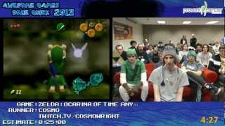The Legend of Zelda: Ocarina of time in 22:38