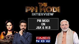 PM Narendra Modi speaks on 2019 Lok Sabha Polls in Jammu & Kashmir and West Bengal - TIMESNOWONLINE