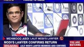 Former IPL chief Lalit Modi passport restored - NEWSXLIVE
