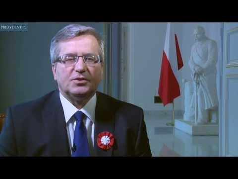 Prezydent Komorowski o Powstaniu Wielkopolskim