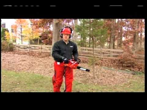 How do I use and maintain my chainsaw?