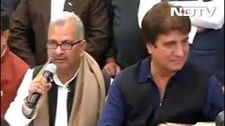 राज बब्बर ने यूपी कांग्रेस अध्यक्ष पद से दिया इस्तीफा - NDTVINDIA