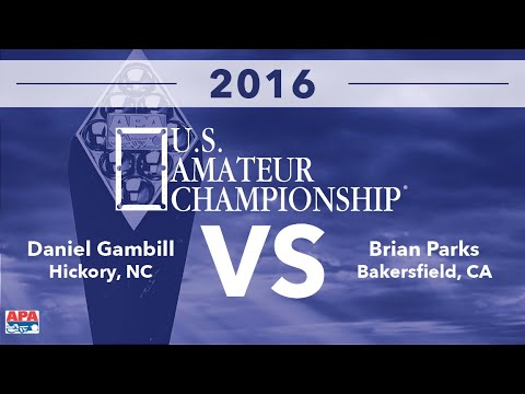 2016 US Amateur Championship - Daniel Gambill VS Brian Parks - FINALS