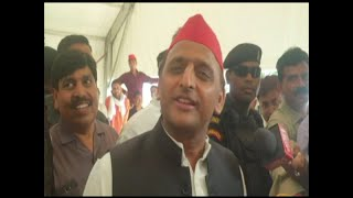 Each sector of society is upset with BJP: Akhilesh Yadav - ABPNEWSTV