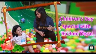 Rashmi Desai relives her childhood days with her niece | Children's Day Special I TellyChakkar - TELLYCHAKKAR