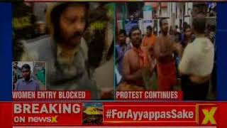 Sabarimala Temple Row: Kerala Government takes U-Turn; Women devotees denied entry - NEWSXLIVE