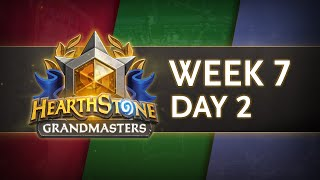 Hearthstone Grandmasters 2020 Season 1 | Week 7 Day 2