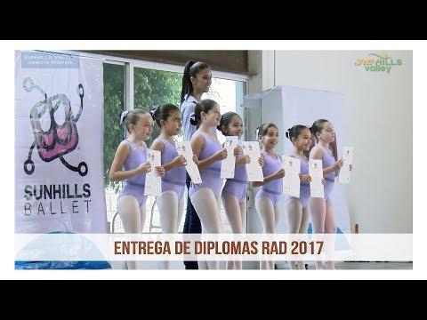 Entrega de Diplomas RAD 2017