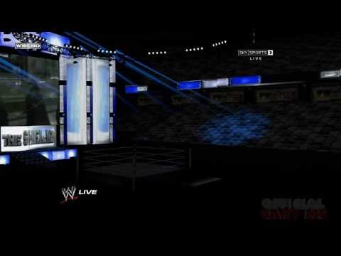 WWE HD Stage (2013) - The Shield Entrance Animation